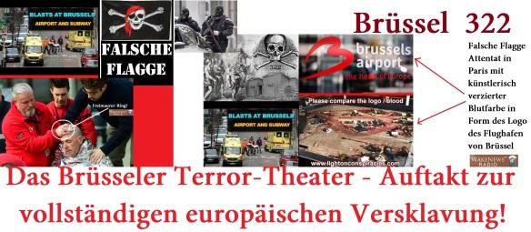Das Brüsseler Terror-Theater - Auftakt zur vollständigen europäischen Versklavung