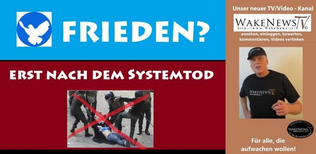 FRIEDEN - ERST NACH DEM SYSTEMTOD