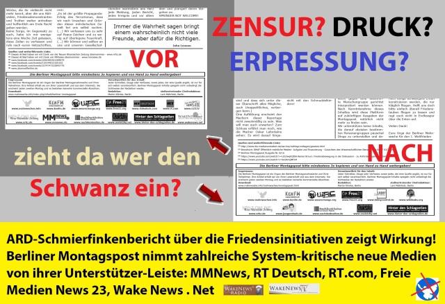 Berliner Morgenpost entfernt langjährige Unterstützer nach ARD Schmierfinkenbericht