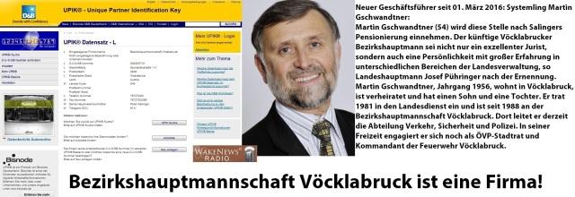 BH Vöcklabruck ist eine Firma - Martin Gschwandtner Geschäftsführer