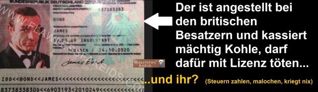 Bonds Personalausweis