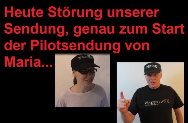 Heute Störung - Pilotsendung von Maria