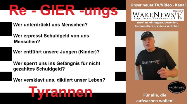 Re-GIER-ungs - Tyrannen
