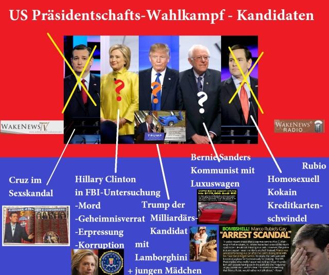 US-Präsidentschaftskandidaten