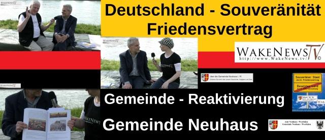 Deutschland - Souveränität - Friedensvertrag