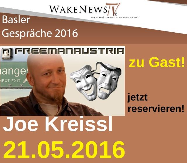 Joe Kreissl zu Gast 21.05.2016