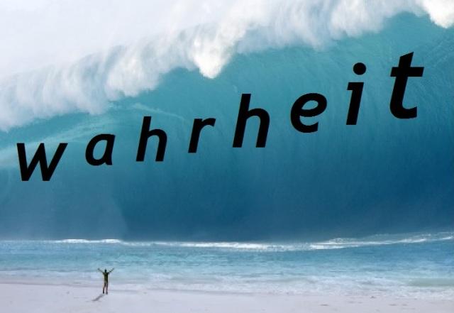 Wahrheits-Tsunami