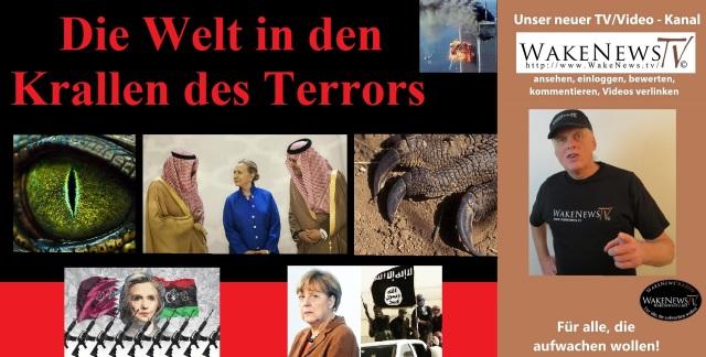 Die Welt in den Krallen des Terrors