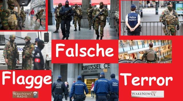Falsche Flagge Terror Belgien