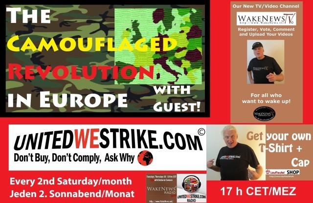 The Camouflaged Revolution In Europe - UWS Radio-Marathon 20160611