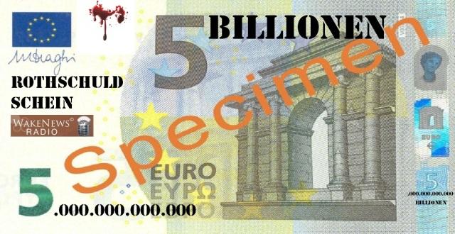 5 Billionen Rothschuld Schein