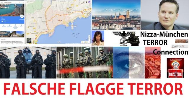 Falsche Flagge Terror Nizza München