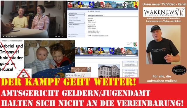 Kampf geht weiter - Kinderklau Straelen - Amtsgericht Geldern hält sich nicht an Verabredung