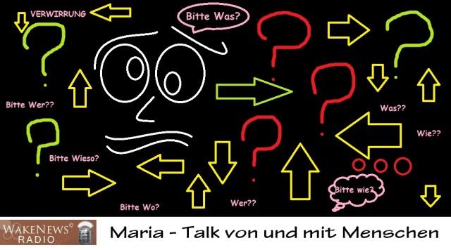 Verwirrung Maria mit Logo