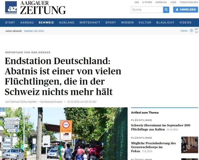 Flüchtlings-Endstation BUND