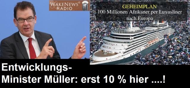 Müller - erst 10 Prozent hier