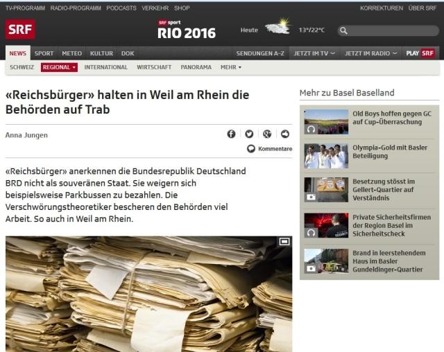 SFR - Reichsbürger - Bericht Anna Jungen 12.08.2016