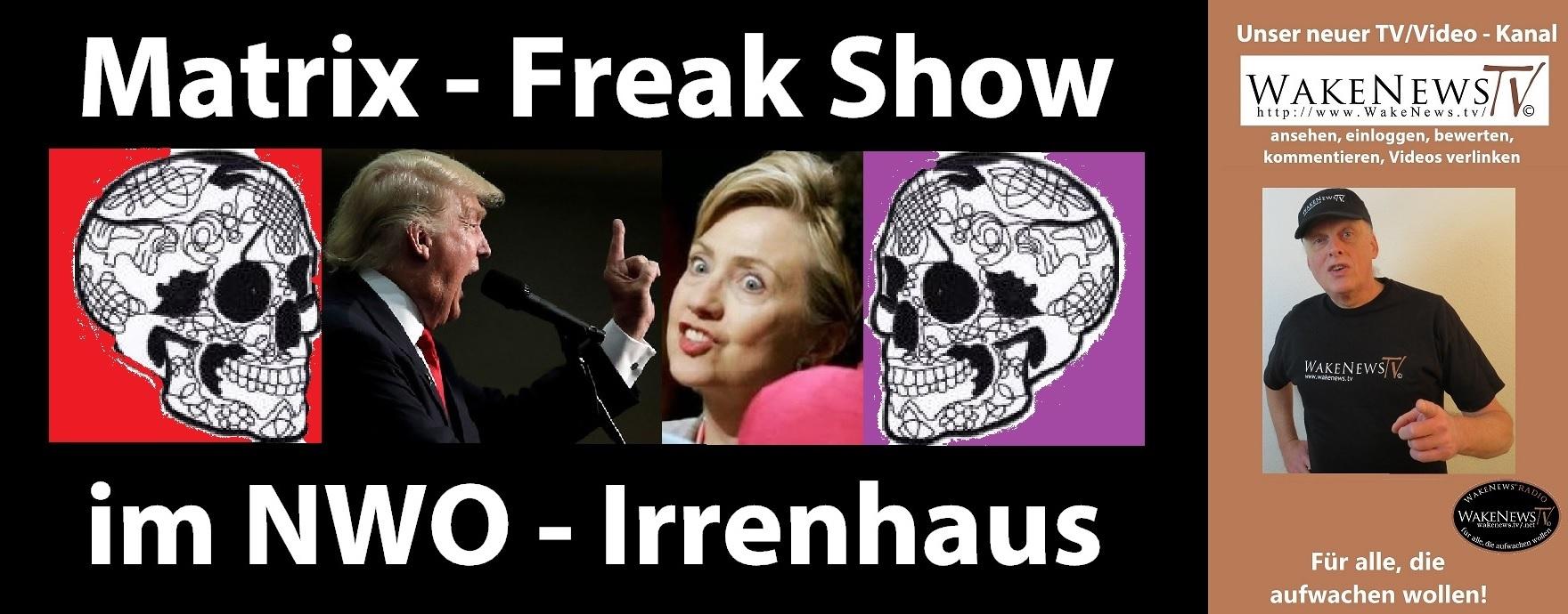 Matrix-Freak Show im NWO Irrenhaus – Wake News Radio/TV ...