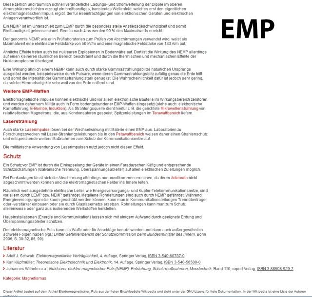 emp-vorbereitung