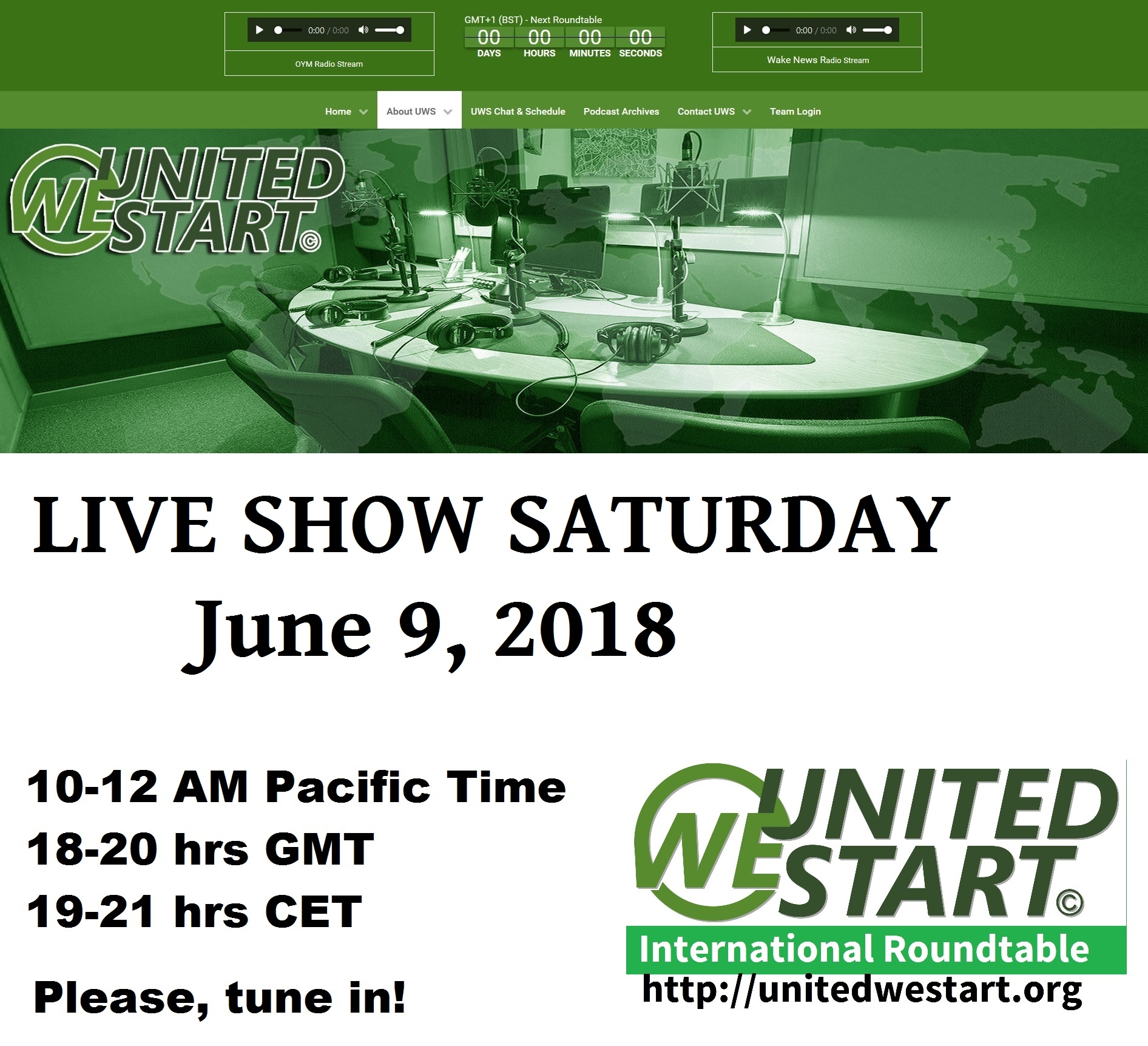 United We Start Roundtable Discussion June 9, 2018 – Bilderberger ...