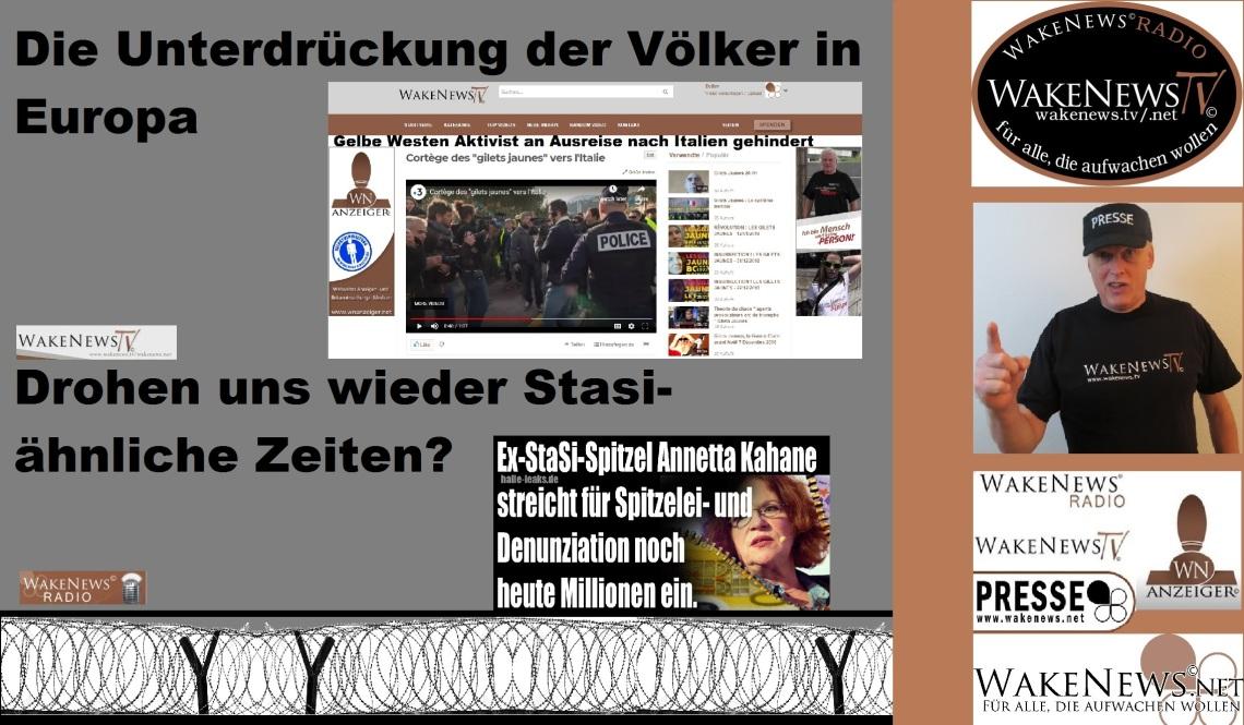 Unterdruckung Der Volker In Europa Wake News Radio Tv