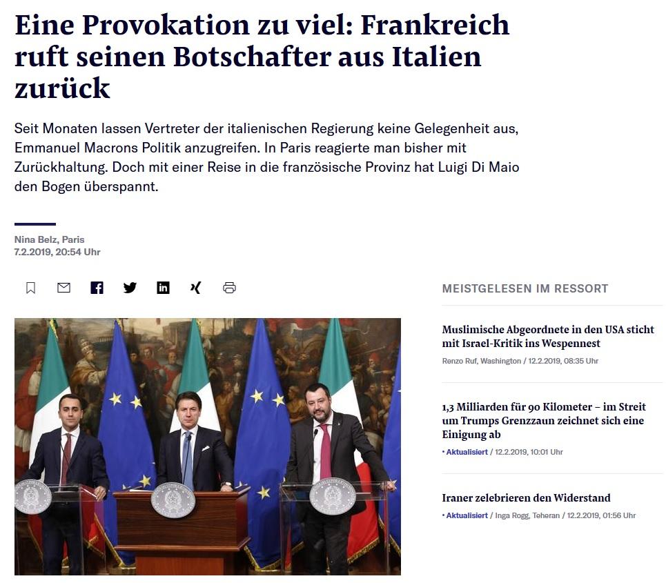 Abb Https Www Nzz Ch International Gilets Jaunes Frankreich Ruft Botschafter Aus Italien Zurueck Ld